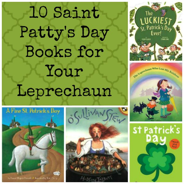 10 Happy St. Patty's Day Picture Books for Your Little Leprechaun from The Jenny Evolution.